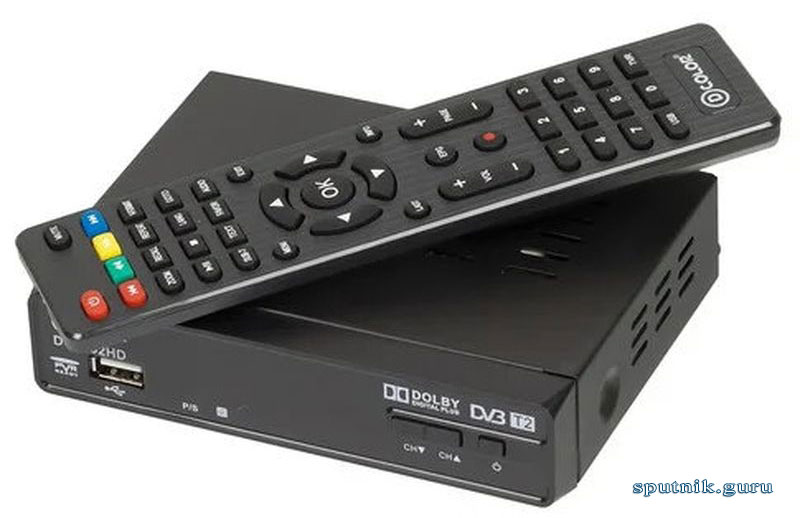 ТВ-приставка DVB-T2 D-COLOR DC1302HD