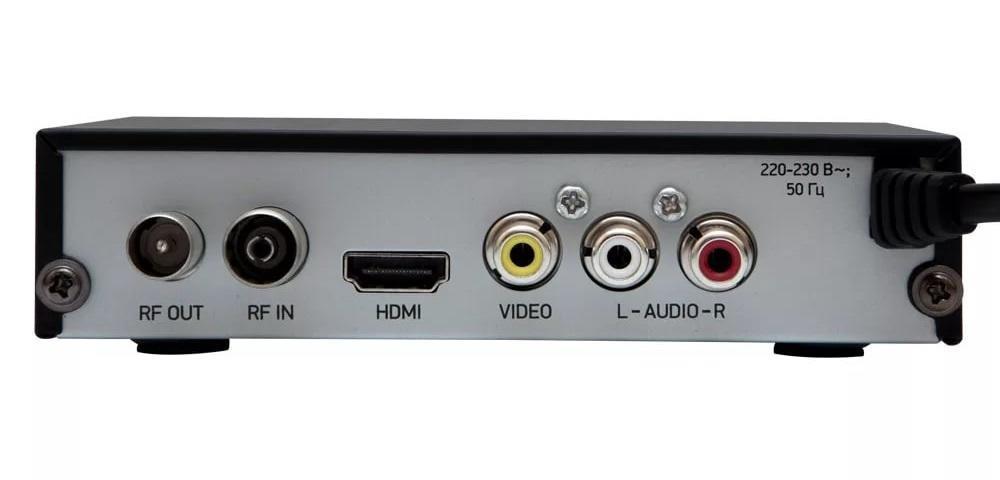 ТВ-тюнер BBK SMP240HDT2 вид сзади